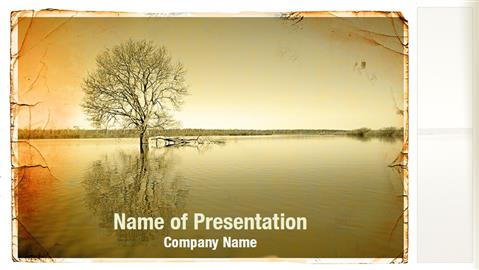 Lonely Tree Powerpoint Templates Lonely Tree Powerpoint