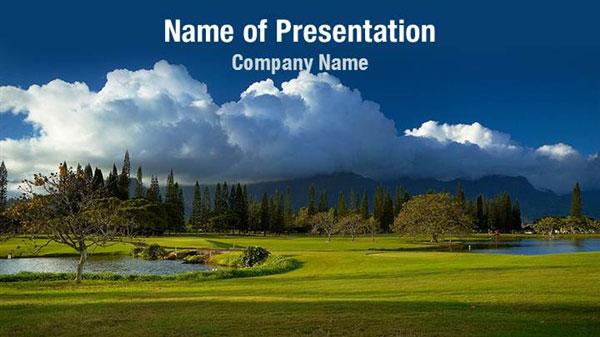 Cloudy Landscape Powerpoint Templates Cloudy Landscape Powerpoint Backgrounds Templates For Powerpoint Presentation Templates Powerpoint Themes